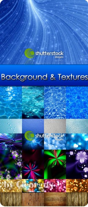 Big collection of backgrounds and textures