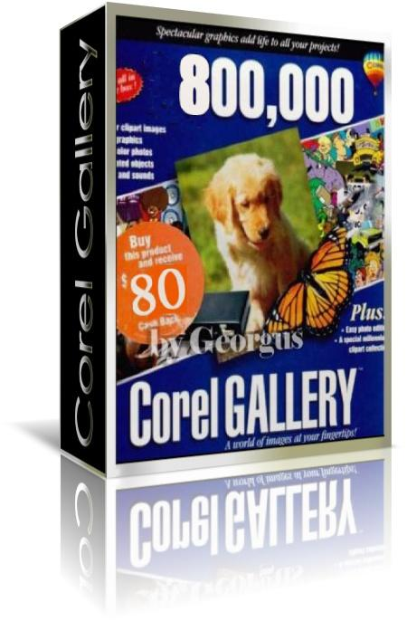 COREL GALLERY MAGIC 800,000